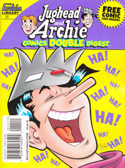 Cover for Jughead and Archie Double Digest (Archie, 2014 series) #11