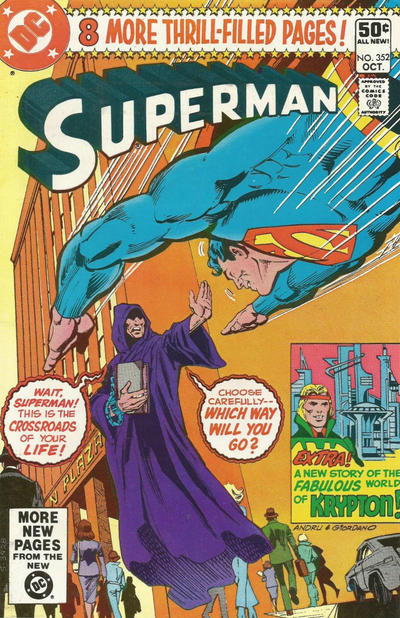 Cover for Superman (DC, 1939 series) #352 [Direct]