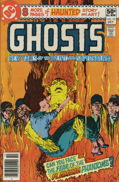 Cover for Ghosts (DC, 1971 series) #93 [Newsstand]