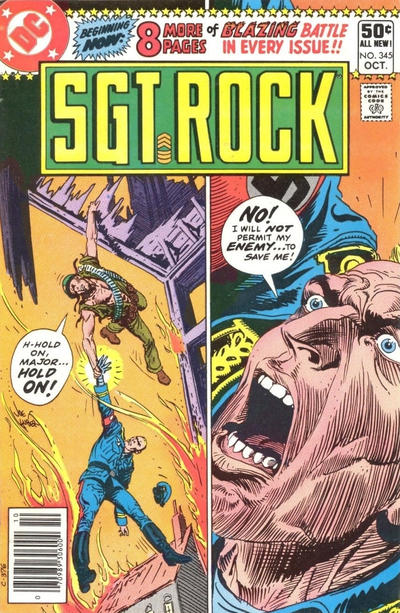 Cover for Sgt. Rock (DC, 1977 series) #345