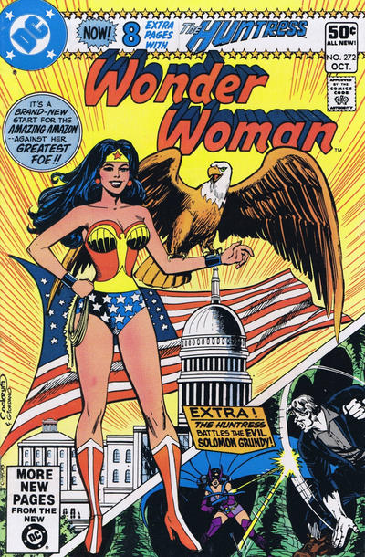 Cover for Wonder Woman (DC, 1942 series) #272 [Direct Sales Variant]