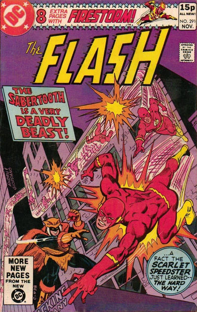 Cover for The Flash (DC, 1959 series) #291 [Direct Sales]