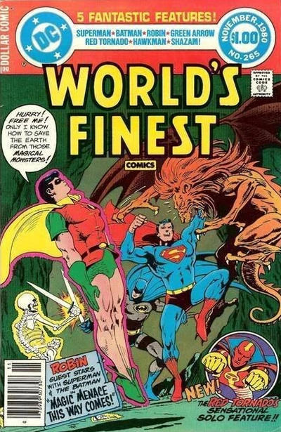Cover for World's Finest Comics (DC, 1941 series) #265 [Direct]