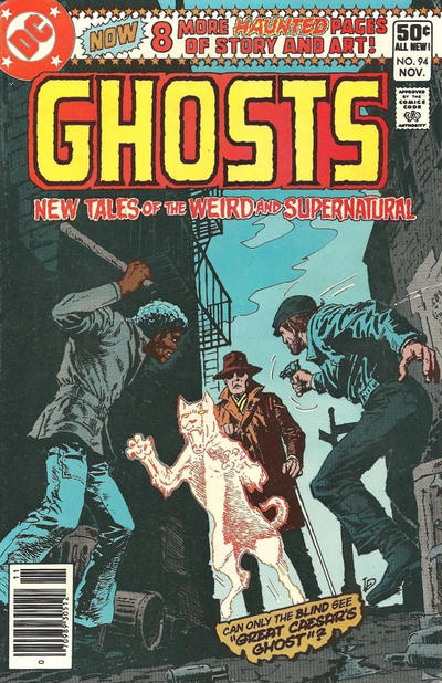 Cover for Ghosts (DC, 1971 series) #94 [Newsstand]