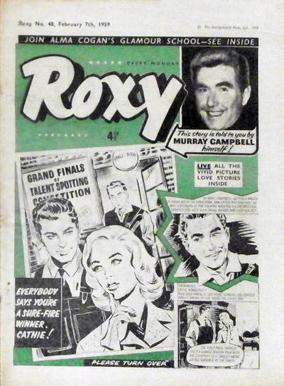 Cover for Roxy (Amalgamated Press, 1958 series) #48