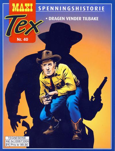 Cover for Maxi Tex (Hjemmet / Egmont, 2008 series) #40