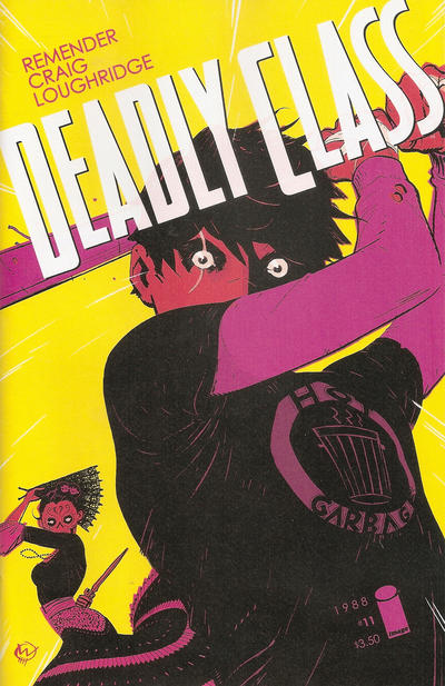 Cover for Deadly Class (Image, 2014 series) #11