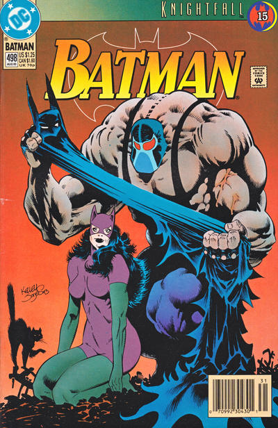 Cover for Batman (DC, 1940 series) #498