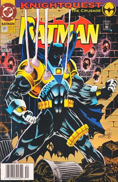 Cover for Batman (DC, 1940 series) #501