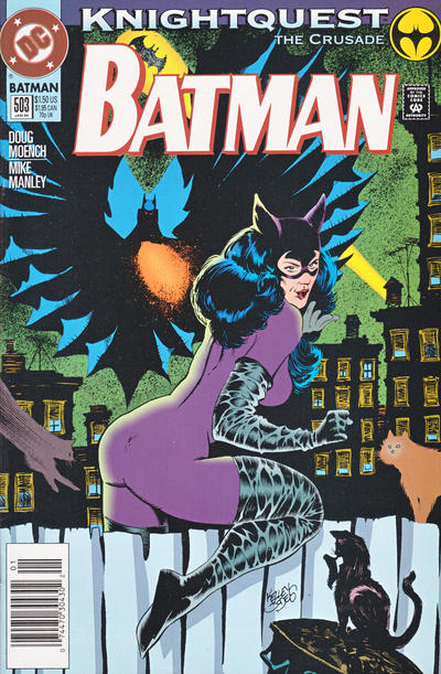 Cover for Batman (DC, 1940 series) #503 [Direct Sales]