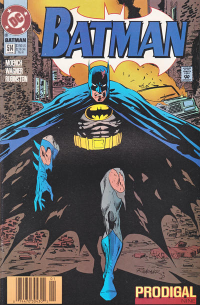 Cover for Batman (DC, 1940 series) #514