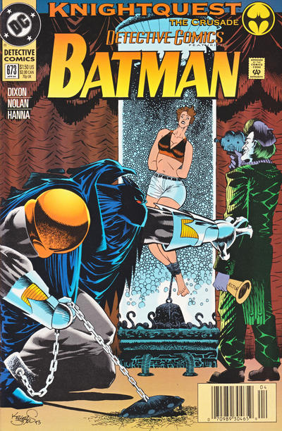 Cover for Detective Comics (DC, 1937 series) #673