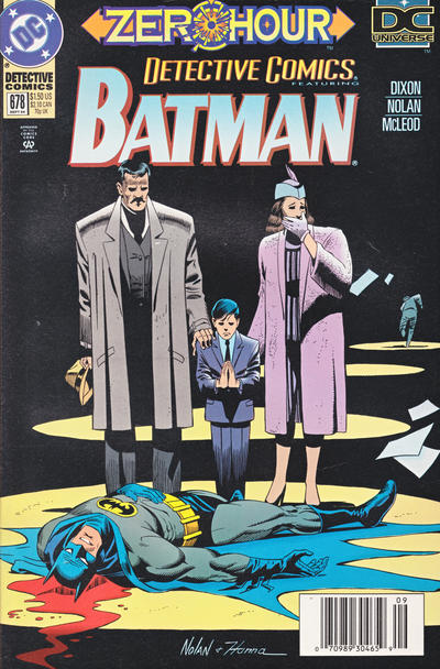 Cover for Detective Comics (DC, 1937 series) #678