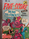 Cover for Five-Score Plus Comic Monthly (K. G. Murray, 1960 series) #32