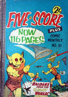 Cover for Five-Score Plus Comic Monthly (K. G. Murray, 1960 series) #31