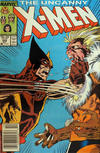 Cover Thumbnail for The Uncanny X-Men (1981 series) #222 [Newsstand]