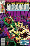 Cover for Micronauts (Marvel, 1979 series) #17 [Newsstand]