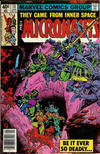 Cover for Micronauts (Marvel, 1979 series) #13 [Newsstand]