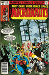 Cover for Micronauts (Marvel, 1979 series) #18 [Newsstand]