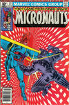 Cover Thumbnail for Micronauts (1979 series) #27 [Newsstand]