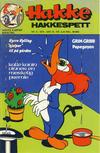 Cover for Hakke Hakkespett (Nordisk Forlag, 1973 series) #9/1975
