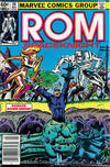 Cover Thumbnail for ROM (1979 series) #28 [Newsstand Edition]