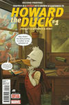 Cover for Howard the Duck (Marvel, 2015 series) #1 [Second Printing]