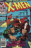 Cover Thumbnail for The Uncanny X-Men (1981 series) #237 [Newsstand]