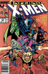 Cover Thumbnail for The Uncanny X-Men (1981 series) #240 [Newsstand Edition]