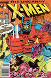 Cover Thumbnail for The Uncanny X-Men (1981 series) #246 [Newsstand]