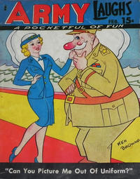 Cover Thumbnail for Army Laughs (Prize, 1941 series) #v5#11