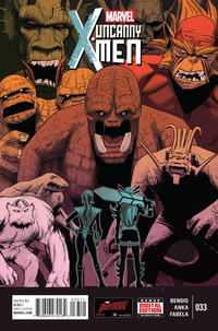 Cover Thumbnail for Uncanny X-Men (Marvel, 2013 series) #33 [Direct Edition]