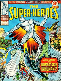 Cover Thumbnail for The Super-Heroes (Marvel UK, 1975 series) #16