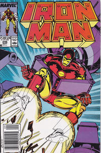 Cover Thumbnail for Iron Man (Marvel, 1968 series) #246 [Newsstand]