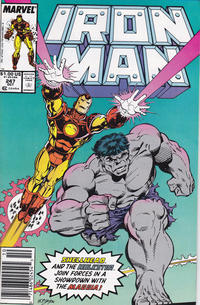 Cover Thumbnail for Iron Man (Marvel, 1968 series) #247 [Newsstand]