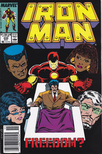Cover Thumbnail for Iron Man (Marvel, 1968 series) #248 [Newsstand]