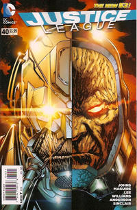 Cover Thumbnail for Justice League (DC, 2011 series) #40 [Direct Sales]