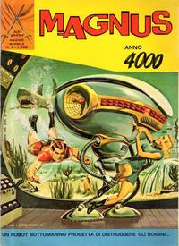 Cover Thumbnail for Albi Spada - Magnus, Anno 4000 (Edizioni Fratelli Spada, 1972 series) #4
