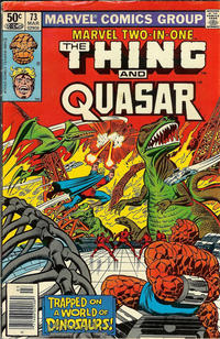 Cover Thumbnail for Marvel Two-in-One (Marvel, 1974 series) #73 [Newsstand]