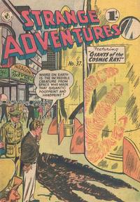 Cover Thumbnail for Strange Adventures (K. G. Murray, 1954 series) #37