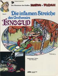 Cover Thumbnail for Isnogud (Egmont Ehapa, 1989 series) #4 - Die infamen Streiche des Großwesirs Isnogud