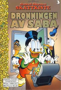 Cover Thumbnail for Onkel Skrues skattkiste (Hjemmet / Egmont, 2015 series) #3 - Dronningen av Saba