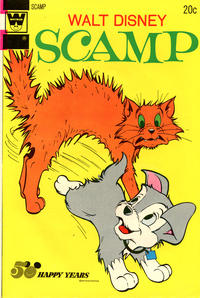 Cover Thumbnail for Walt Disney Scamp (Western, 1967 series) #12 [Whitman]