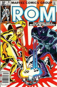 Cover Thumbnail for ROM (Marvel, 1979 series) #20 [Newsstand Edition]