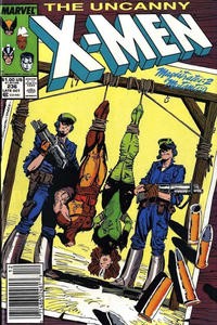 Cover Thumbnail for The Uncanny X-Men (Marvel, 1981 series) #236 [Newsstand]