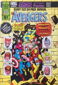 Cover Thumbnail for The Avengers Annual (Newton Comics, 1975 series)