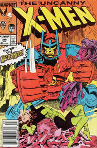Cover Thumbnail for The Uncanny X-Men (Marvel, 1981 series) #246 [Newsstand]