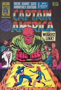 Cover Thumbnail for Captain America (Newton Comics, 1970 ? series) #2