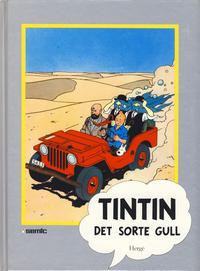 Cover Thumbnail for Tintin [Seriesamlerklubben] (Semic, 1986 series) #[17] - Det sorte gull