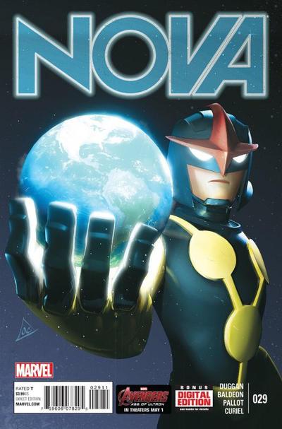 Cover for Nova (Marvel, 2013 series) #29